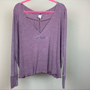 Free People pull over sweater, size small